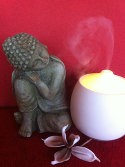 Beeldje van Buddha van ABC Totaalkosmetiek